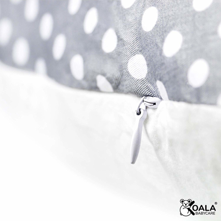 Immagine di Koala Babycare® Cuscino gravidanza e cuscino allattamento Hug+ Comfy Grey