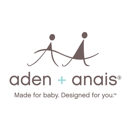 Immagine di Aden+Anais® Set di 3 teli in bambu Watercolour Garden 120x120