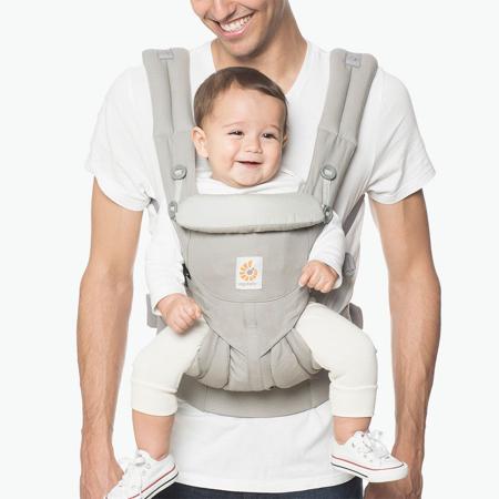 Ergobaby® Marsupio portabebè Omni 360 Pearl Grey