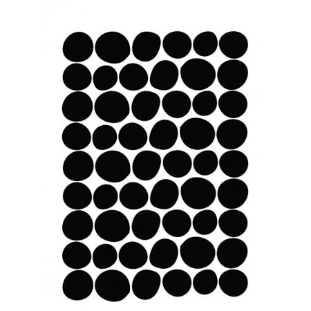 Pick Art Design® Adesivo da parete Circoli Dimensioni differenti