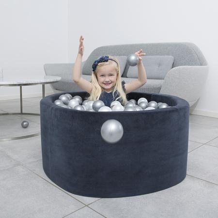 Immagine di Misioo® Piscina con palline Navy Blue