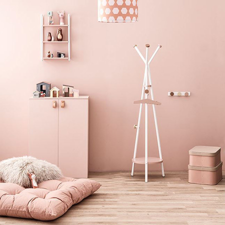 Immagine di Kids Concept® Appendiabiti Rosa