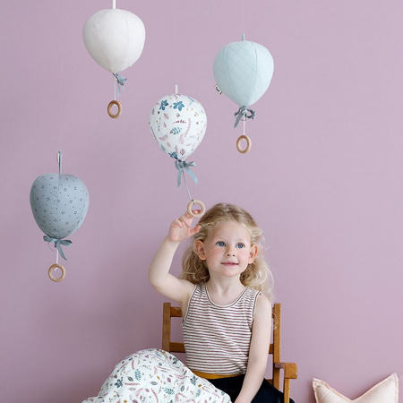 Immagine di CamCam® Giostrina musicale Balloon Grey Wave