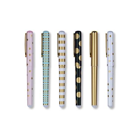 Immagine di Tri-Coastal Design® Set di 6 penne a Pois