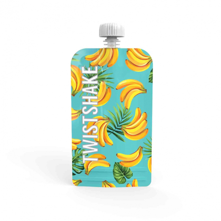 Picture of Twistshake 3x Refillable Squeeze Bag 220ml