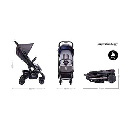 Picture of Easywalker®  Buggy XS - Oxford Black