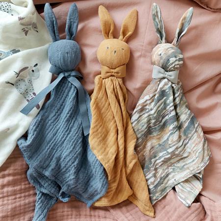 Immagine di Elodie Details® Doudou coniglietto Blue