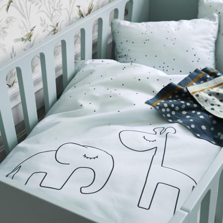 Immagine di Done by Deer® Biancheria da letto Dreamy Dots Junior Powder 100x140