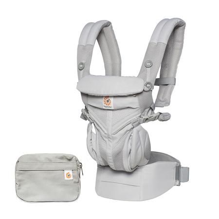 Immagine di Ergobaby® Marsupio portabebè Omni 360 Cool Air Mesh Pearl Grey