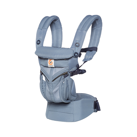 Immagine di Ergobaby® Marsupio portabebè Omni 360 Cool Air Mesh Oxford Blue