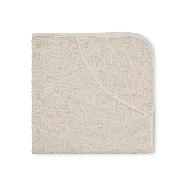 Immagine di CamCam® Asciugamano con cappuccio Light Sand 80x80