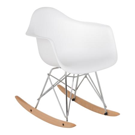 Immagine di EM Furniture RAR Sedia a dondolo per bambini White