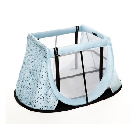 AeroMoov® Travel cot blue bountain