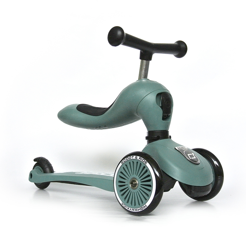 Immagine di Scoot & Ride® Bici senza pedali e monopattino 2 in 1 Highwaykick 1 Forest