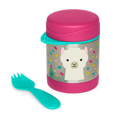 Picture of Skip Hop® Insulated Little Kid Food Jar Lama