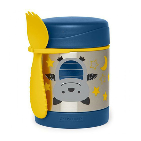 Picture of Skip Hop® Insulated Little Kid Food Jar Bat