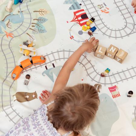 Immagine di Play&Go® Sacco portagiochi e tappeto Clothespin