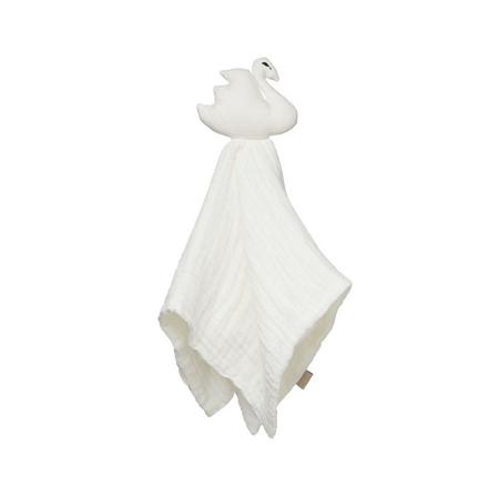 CamCam® Doudou pannolino Cigno Off-White 26x15