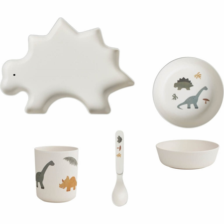 Immagine di Liewood® Set pappa bamboo baby Dino mix
