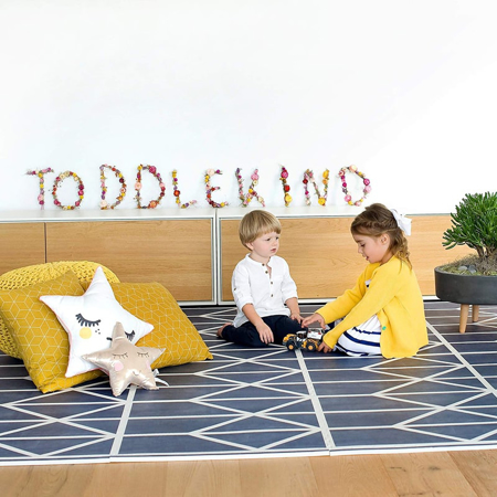 Picture of Toddlekind® Prettier Playmat Nordic Petroleum