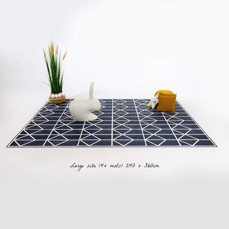 Immagine di Toddlekind® Tappeto gioco Nordic Petroleum