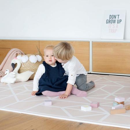 Slika Toddlekind® Igralna podloga Nordic Vintage Nude