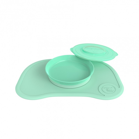 Immagine di Twistshake® Tovaglia piattino 430ml - Verde Pastello