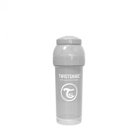 Twistshake® Anti-Colic 260 ml Pastello - Grigio Pastello