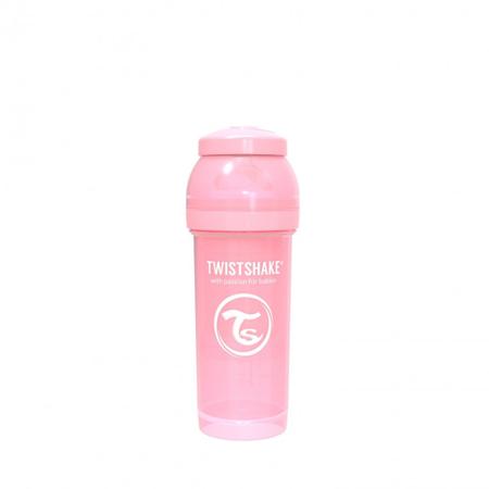 Twistshake® Anti-Colic 260 ml Pastello - Rosa Pastello