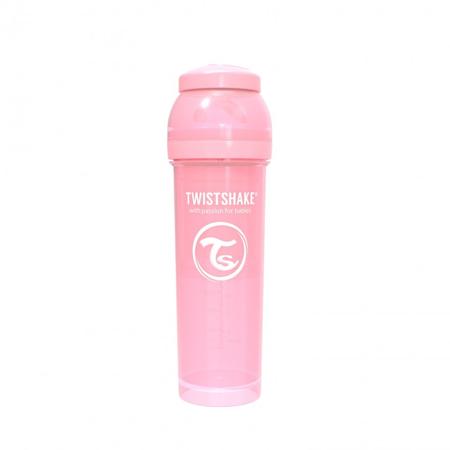 Twistshake® Anti-Colic 330 ml Pastello - Rosa Pastello