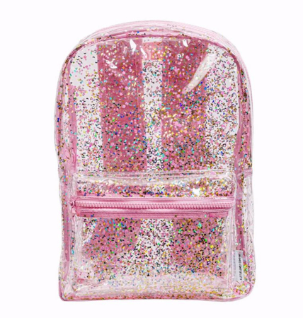 Immagine di A Little Lovely Company®  Zaino Glitter transparent/pink