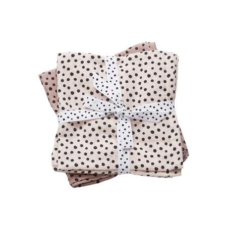 Done By Deer®  Set panni burp Happy Dots