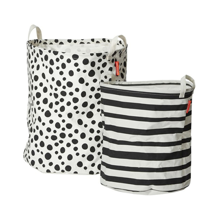 Picture of Done By Deer Soft Storage Basket 2-pcs