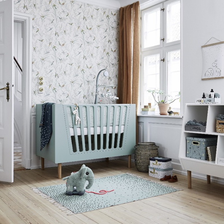 Immagine di Done by Deer® Paracolpi per lettino Dreamy Dots White 350x30