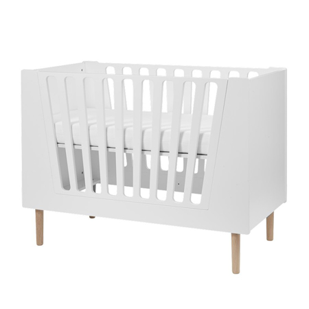 Done by Deer® Lettino per bambini 140x70 - Bianco