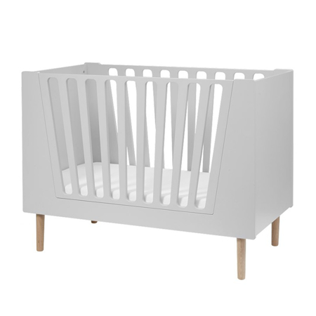 Done by Deer® Lettino per bambini 140x70 - Grigio