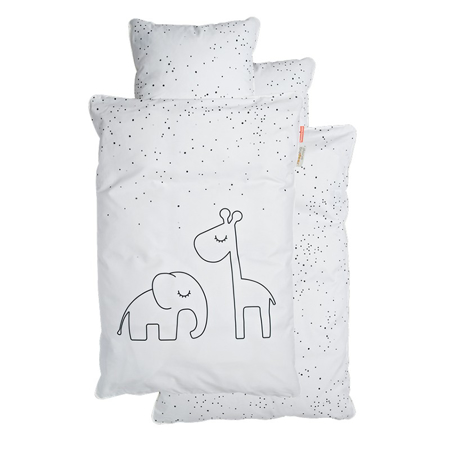 Picture of Done by Deer®  Dreamy Dots Bedlinen White (100x140)