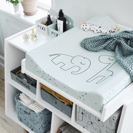 Immagine di Done by Deer® Fasciatoio Dreamy Dots Blue