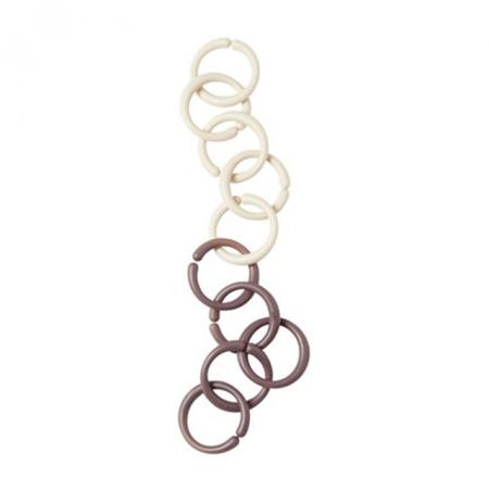 Done by Deer® Catena con anelli - Rosa chiaro