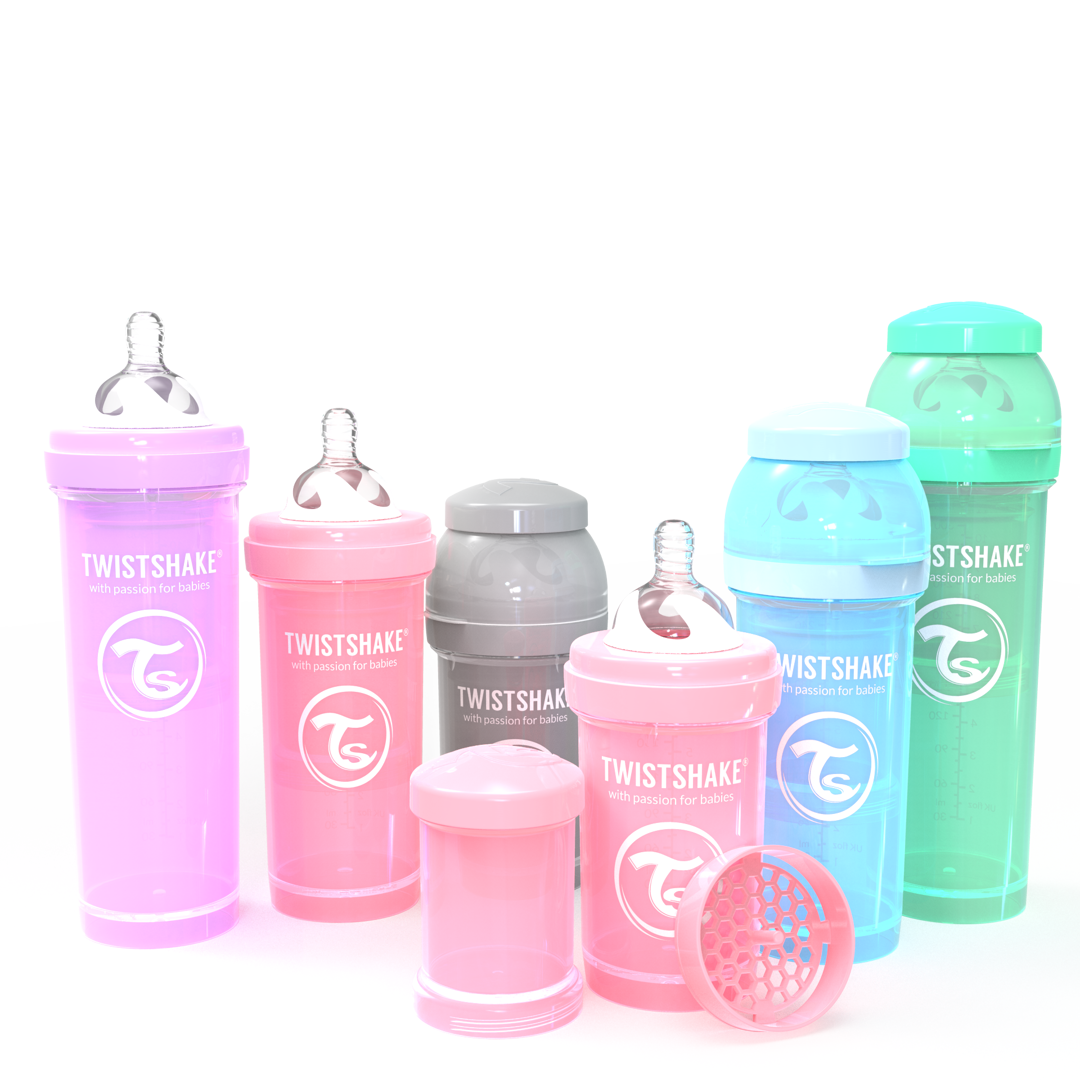 The lovely colours of Twistshake