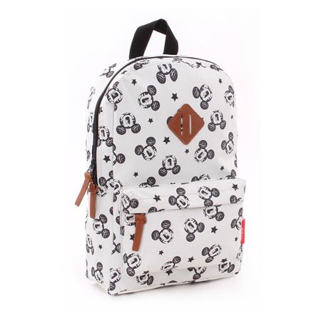 Disney's Fashion® Zaino rotondo Mickey Bianco