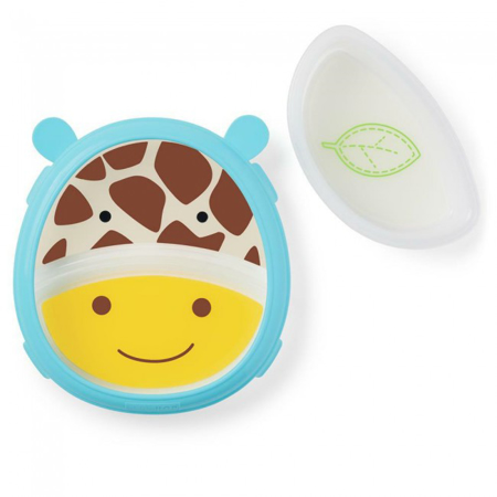 Picture of Skip Hop®  Smart Serve Plate & Bowl Giraffe