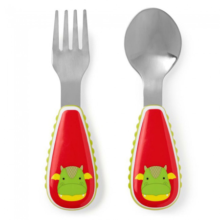 Picture of Skip Hop® Fork&Spoon Dragon