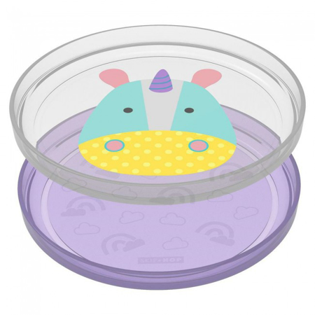 Immagine di Skip Hop® Set piatti antiscivolo Unicorno