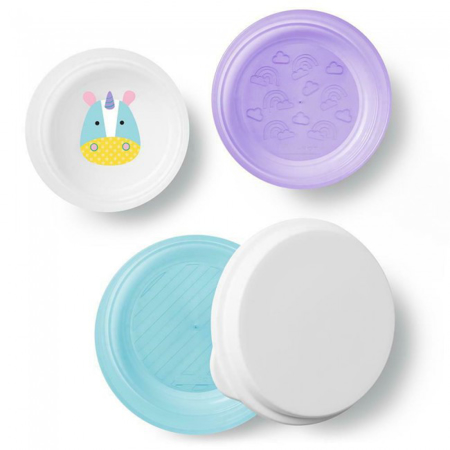 Picture of Skip Hop® Smart Serve Non-Slip Bowls Unicorn