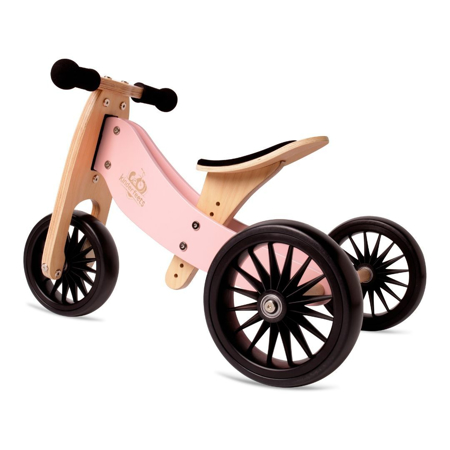 Kinderfeets® Bici senza pedali Tiny Tot Plus 2in1 Rose