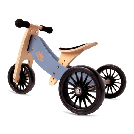 Kinderfeets® Bici senza pedali Tiny Tot Plus 2in1 Slate Blue