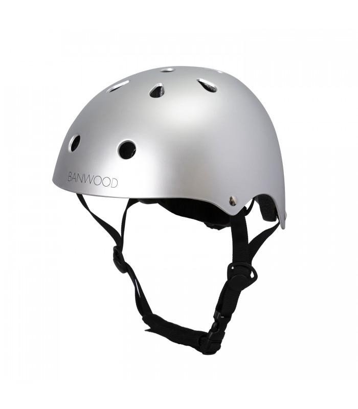 Immagine di BANWOOD® Casco per la bici Banwood 3/7 (50-54cm) Chrome