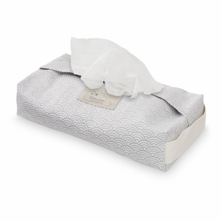 Picture of CamCam®  Wet Wipe Cover Grey Wave