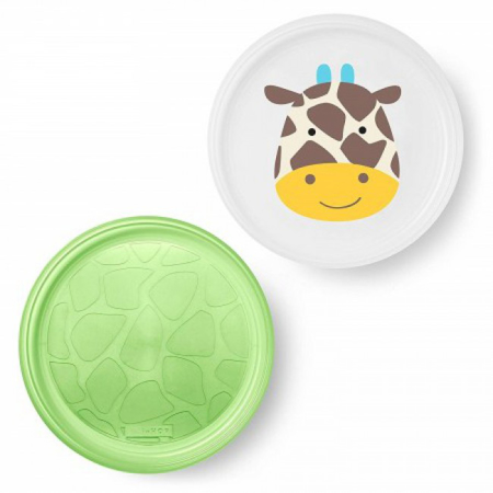Picture of Skip Hop® Smart Serve Non-Slip Plates Giraffe